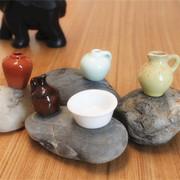 Lot 5pcs Dollhouse Miniatures Water Pitcher Wine Vase Pots Jug Pottery